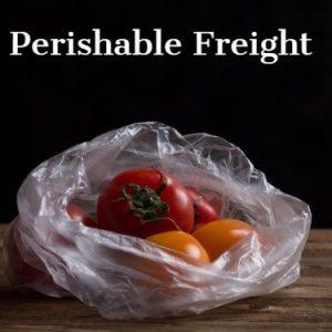 Perishable Freight