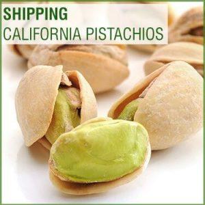 Shipping California Pistachios
