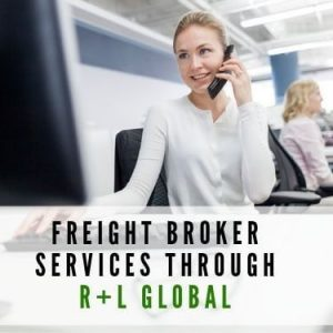 freight broker services through R+l Global