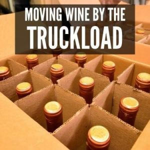 moving wine by the truckload