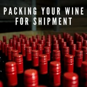 packing your wine for shipment