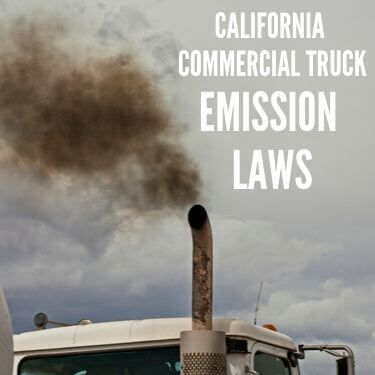 California Commercial Truck Emission Laws