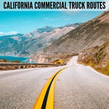 California Commercial Truck Routes