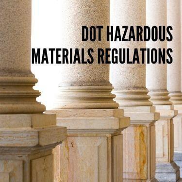 DOT Hazardous Materials Regulations
