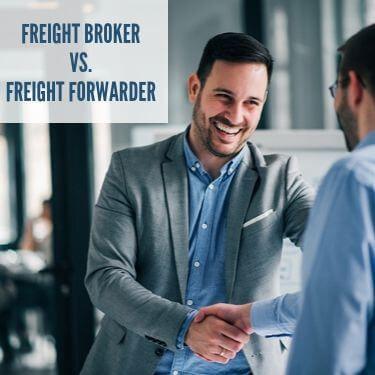 Freight Broker VS Freight Forwarder
