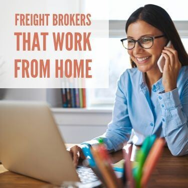 Freight Brokers That Work From Home