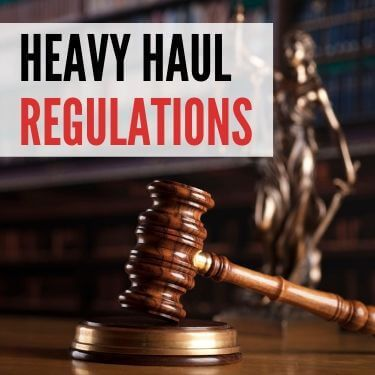 Heavy Haul Regulations