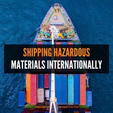 TranspoShipping Hazardous Materials Internationallyrtation Methods for Hazardous Materials