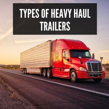 Types of Heavy Haul Trailers