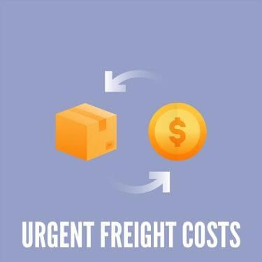Urgent Freight Costs