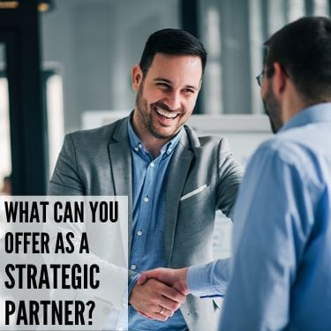 What Can You Offer As Strategic Partner