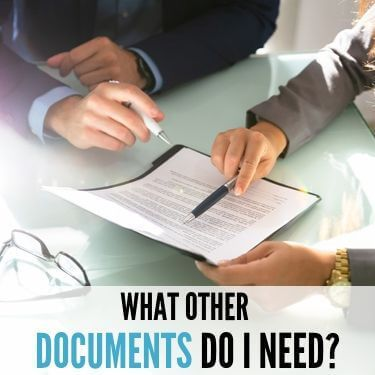 What Other Documents Do I Need