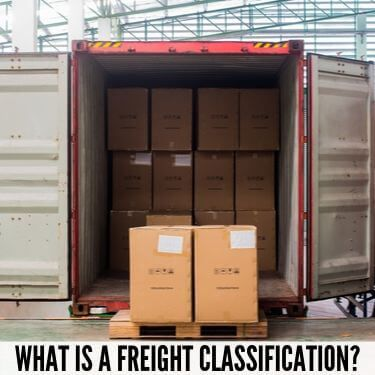 What is a Freight Classfication