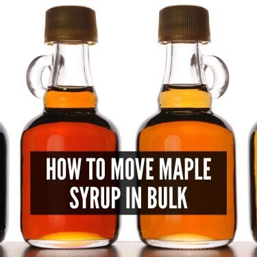 How to Move Maple Syrup in Bulk