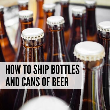 How to Ship Bottles and Cans of Beer