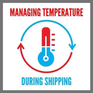 Managing Temperature During Shipping