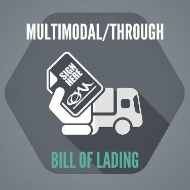 MultimodalThrough Bill of Lading