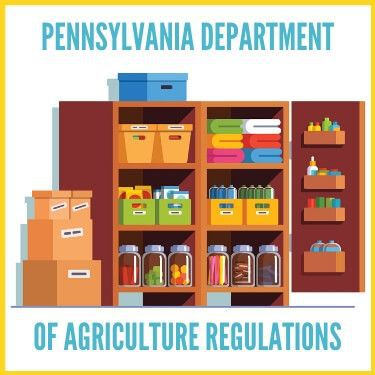 Pennsylvania Department of Agriculture Regulations