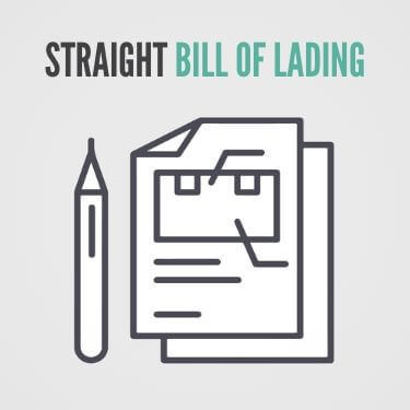 Straight Bill of Lading