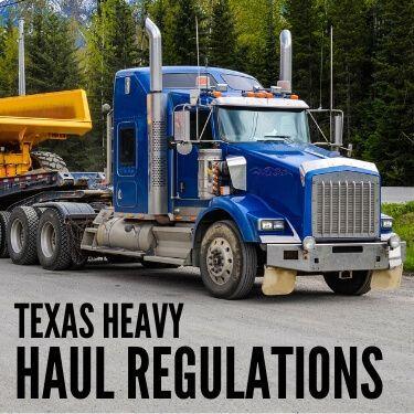 Texas Heavy Haul Regulations