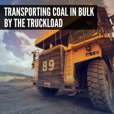 Transporting Coal in Bulk by the Truckload