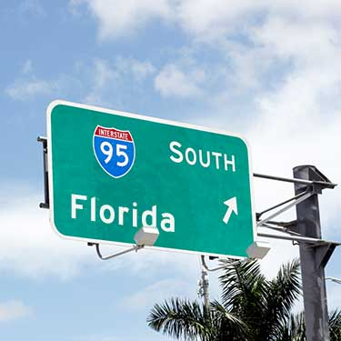 Freight Shipping from Pennsylvania to Florida