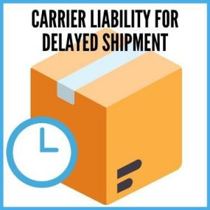 Carrier Liability For Delayed Shipment