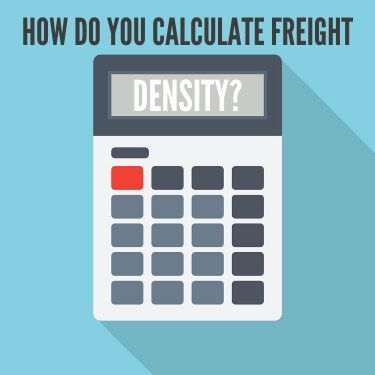 How Do You Calculate Freight Density