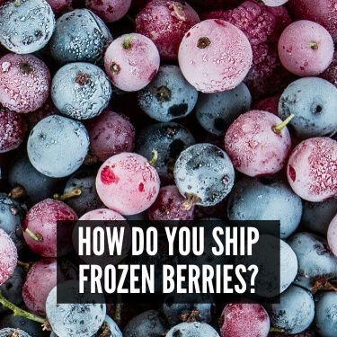 How Do You Ship Frozen Berries