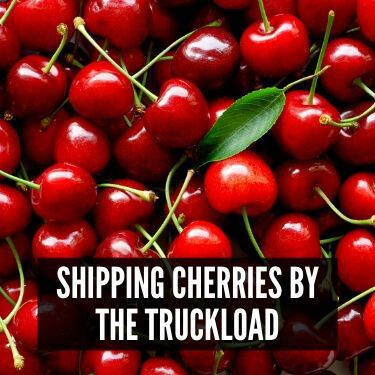Shipping Cherries by the Truckload