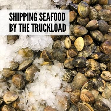 Shipping Seafood by the Truckload
