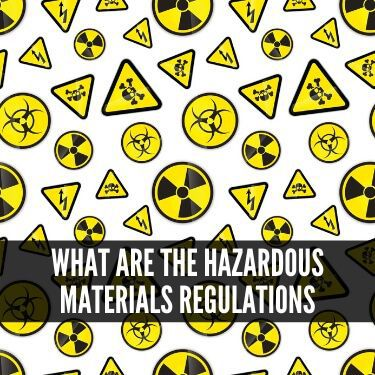 What are the Hazardous Materials Regulations