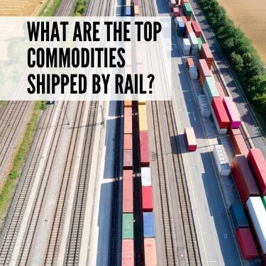 What are the Top Commodities Shipped by Rail