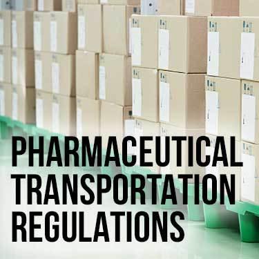Pharmaceutical Transport Regulations