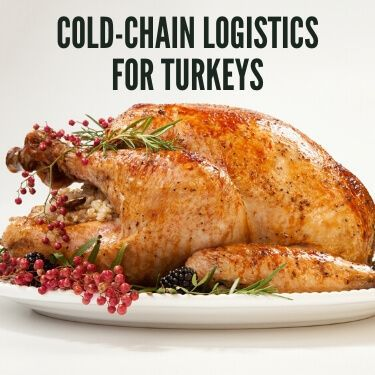 Cold Chain Logistics for Turkeys