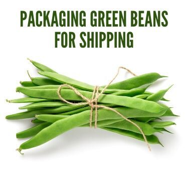 Packaging Green Beans for Shipping