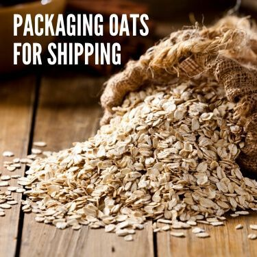Packaging Oats for Shipping