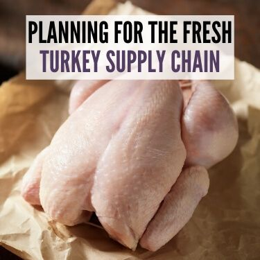 Planning for the Fresh Turkey Supply Chain