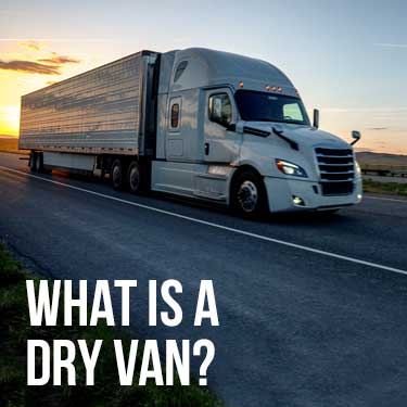 what is a dry van