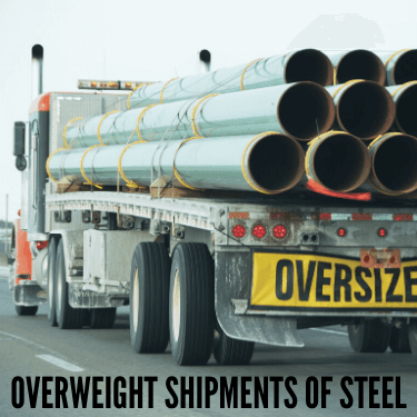 Overweight Shipments of Steel