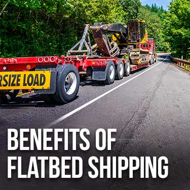 Benefits of Flatbed Shipping
