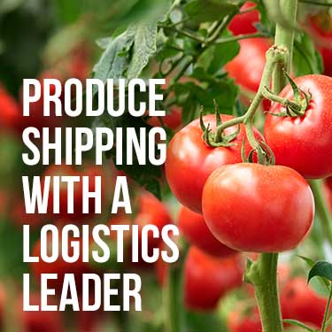 produce shipping with a logistics leader