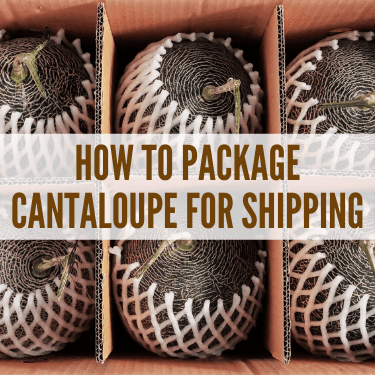 How to Package Cantaloupe for Shipping