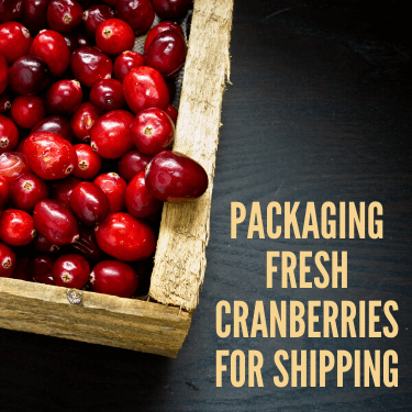 Packaging Fresh Cranberries for Shipping