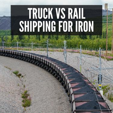 Truck vs Rail Shipping for Iron