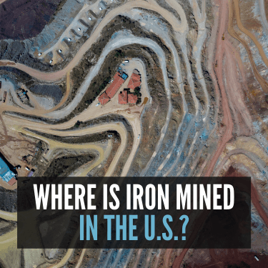 Where is Iron Mined in the U.S.