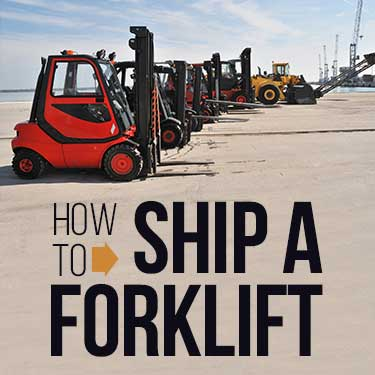 How to Ship a Forklift