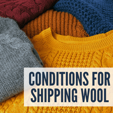 Conditions for Shipping Wool
