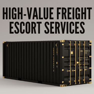 High-Value Freight Escort Services