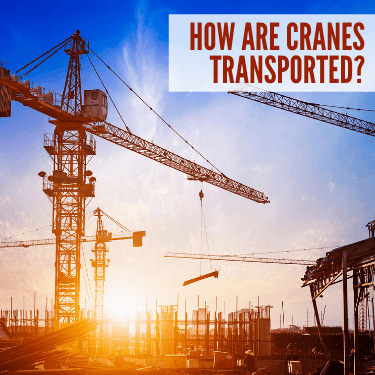 How Are Cranes Transported